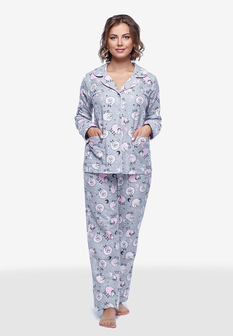 Пижама фланелевая (байковая) П600 Барашки - купить в интернет ... fb8b35301df6e